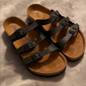 Birkenstock florida soft slide sandals